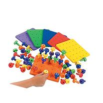 Stack It Peg Game With Board Occupational Therapy Autism