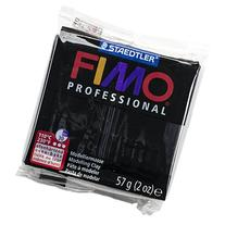 Staedtler Fimo Professional Soft Polymer Clay, 2 oz, Black