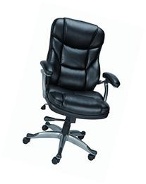 Staples Osgood? Bonded Leather Managers High Back Chair,