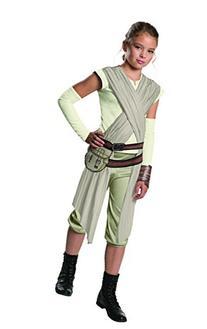 Star Wars: The Force Awakens Child's Deluxe Rey Costume, Medium