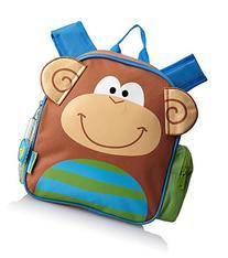 Stephen Joseph Mini Sidekicks Backpack, Monkey