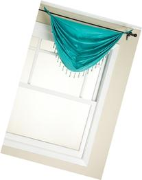 Stylemaster Tribeca Faux Silk Grommet Waterfall Valance with