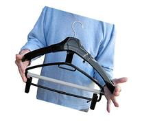 SUIT AND TROUSER/PANTS CLOTHES HANGER With Clips- Hold a