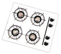 Summit WTL03 24 Gas Cooktop 4 Open Burners, Pilot Light