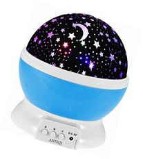 Sun And Star Lighting Lamp 4 LED Bead 360 Degree Romantic
