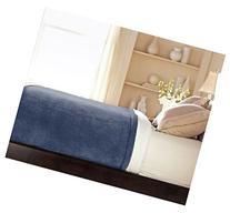 Sunbeam Luxurious Velvet Plush King Heated Blanket with 20