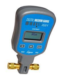 Supco VG64   Vacuum Gauge, Digital Display, 0-12000 microns