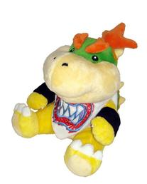 "Super Mario Plush - 7"" Bowser Jr. Soft Stuffed Plush Toy"