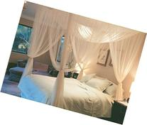 Super buy Go Plus 4 Corner Post Bed Canopy Mosquito Net,
