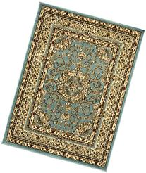 Sweethome King Collection Isfahan Blue Teal Oriental