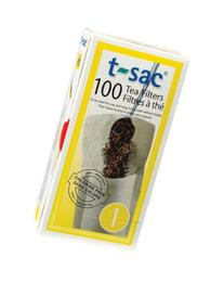 T-Sac Tea Filter Bags, Disposable Tea Infuser, Number 1-Size