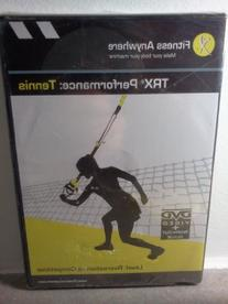 TRX Training Performance: Tennis DVD, For Players at All