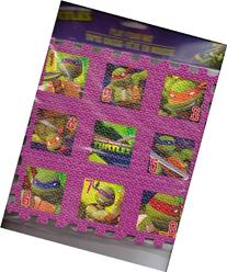 "Teenage Mutant Ninja Turtles Play Foam Mat Puzzle 9""x9"