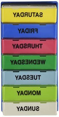 Borin-Halbich The 7Pack® 7 Day 3 Compartment Pill Organizer