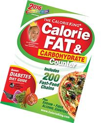 The CalorieKing Calorie, Fat & Carbohydrate Counter 2016: