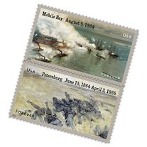 The Civil War: 1864 Sheet 12 Forever Stamps by USPS