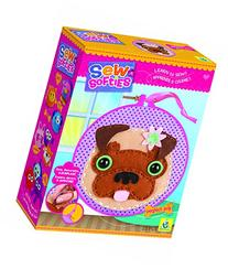 The Orb Factory Sew Softies Perfect Pug Sewing Kit