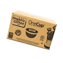 The Organic Coffee Company OneCup Single Serve Coffee,