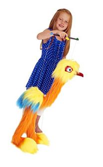 The Puppet Company - Marionette Giant Birds - Tropical Bird
