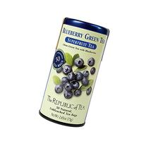 The Republic Of Tea Organic Blueberry Green Superfruit Tea,