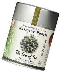 The Tao of Tea, Handrolled Jasmine Pearls Green Tea, Loose