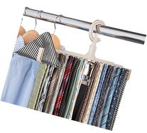 Hassle-Free Tie Hanger - Faster & Easier way to hang ties!