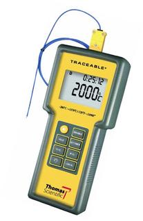 Thomas Traceable Total-Range Thermometer, -328 to 2498