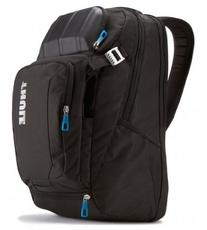 "Thule - Crossover Backpack For 17"" Apple Macbook Pro - Black"