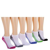 Tipi Toe Women's 12-Pack No Show Athletic Socks, Sock Size 9