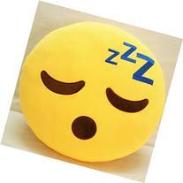 ToLuLu® Soft Emoji Bedding Pillow Cushion Car Sofa Pillow