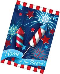 Toland Home Garden Home Of The Brave 12.5 x 18 Inch
