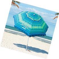 Tommy Bahama Sand Anchor 7 feet Beach Umbrella with Tilt and