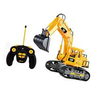 Top Race 7 Channel Full Functional RC Excavator, Battery