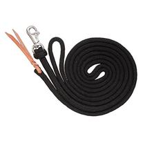 Tough 1 Training Lead with Trigger Bull Snap, Black, 14