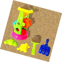 Toy Cubby Beach Fun and Sandbox Double Sand Wheels Play Set