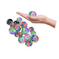 Toy Cubby Super Bouncy Colorful Rubber Ball - 25 pcs