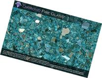 Turquoise Reflective - Fire Pit Fireplace Glass - 5 LBS