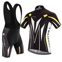 size:4XL] Breathable Set Sleeve Cool Men Jersey Quick Short