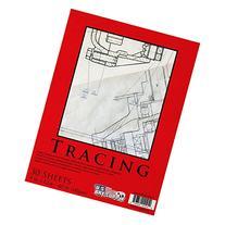 "U.S. Art Supply 9"" x 12"" Premium Tracing Paper Pad, 40 Pound"