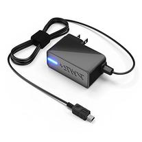 Pwr+ Extra Long 6.5 Ft Cord 2.1A Fast-Rapid-Wall-Charger-AC