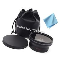 UltimaFio 67mm 0.43x Wide Angle + Macro Lens for Canon EOS