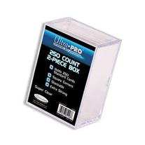 Ultra PRO All Team 2-Piece Storage Box, 250 Count, Clear