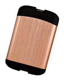 Umbra Bungee Credit Card Case, Metallic Copper