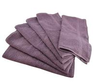 Luxury Cotton Washcloths  - Easy Care, Fingertip Towels,
