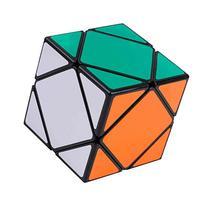 V5-Space Shengshou Oblique Twist Puzzle Cube,Black