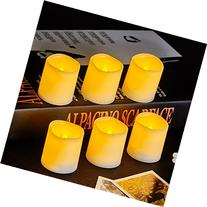 VONGEM Indoor and Outdoor Flickering Flameless Votive