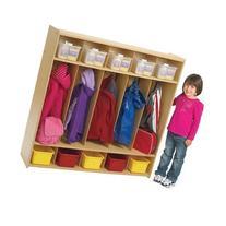 5-Section Preschool Locker