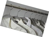 Velvet Hangers with Notches Anti Slip 10 Pack By Florida
