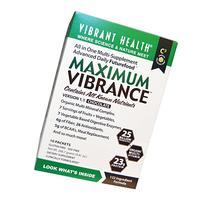 Vibrant Health - Maximum Vibrance Chocolate - All in One