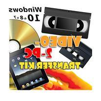 Video-2-PC DIY Video Capture Kit for Windows 10, 8.1, 8, 7,